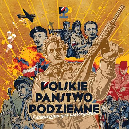 Polskie Państwo Podziemne - gra planszowa